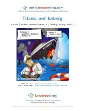 Iceberg meets Titanic - Webcomic about programmers, web developers and browsers