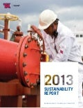 Teekay Sustainability Report 2013