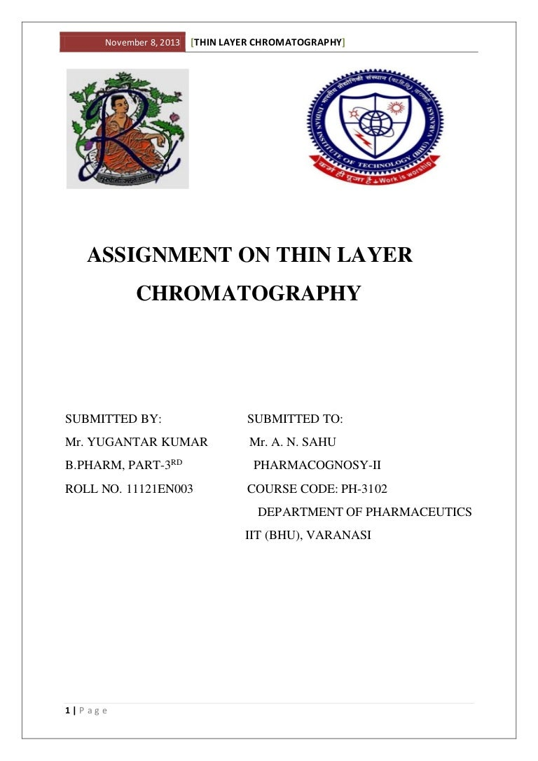 Thin layer chromatography: simple methods of complex analysis