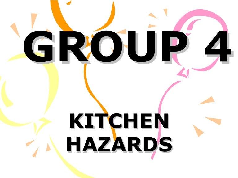 Kitchen hazards (TLE)