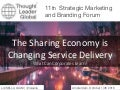 The sharing economy is changing service delivery