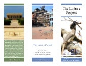 The Lahore Project Brochure