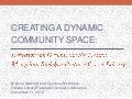 Creating a Dynamic Community Space: Reflections on Organizing the Tibetan Mongolian Buddhist Cultural Center Library