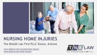 Overview of Tucson Nursing Home Safety Ratings & Risks