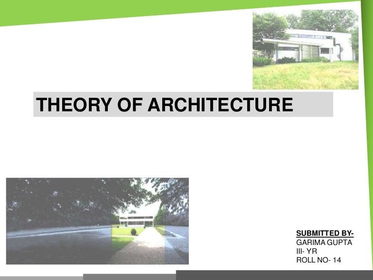 Modern Post Modern Architects Their Works