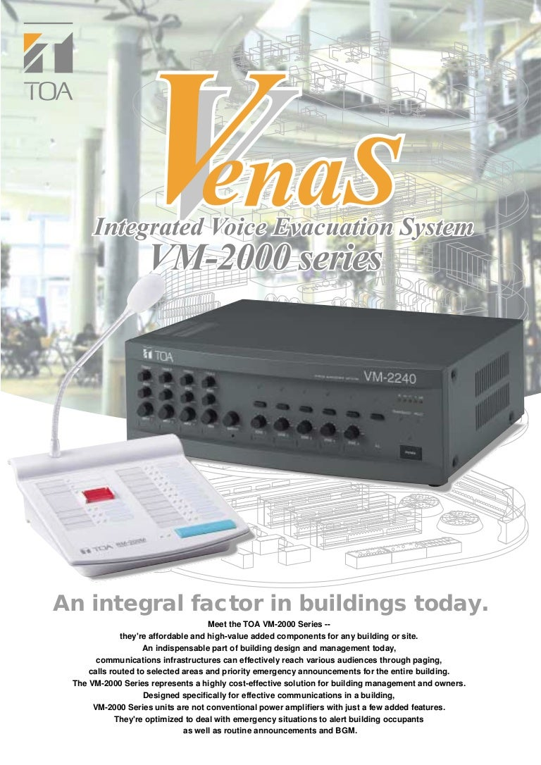 Toa Rm 200 Ms Remote Microphone Designed For Use Only With The Vm Speech Amplifier Box
