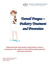Toenail fungus   podiatry treatment and prevention