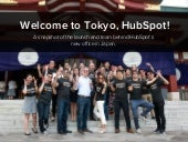 Behind the Scenes: Launching HubSpot Tokyo