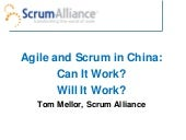 Tom - Scrum