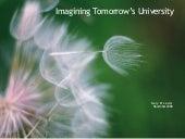 Imagining Tomorrow's University