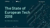 State of European Tech 2018