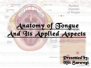 Tongue ppt