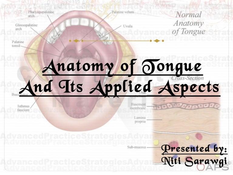 Tongue Ppt