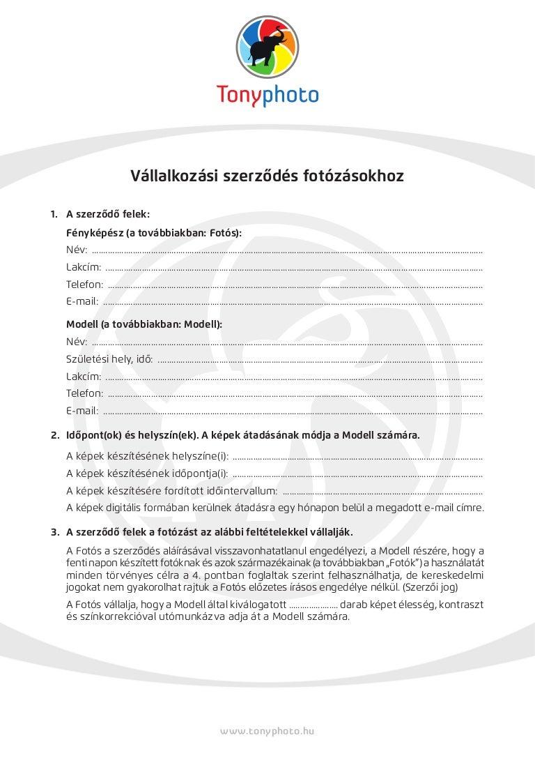 Egyeztetési szolgáltatási szerződés