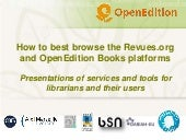Toolkit   presentation of open edition freemium services