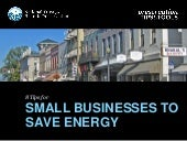 8 Tips for Small Business Owners to Save Energy