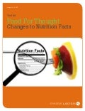 Toolkit: Food for Thought; Changes to Nutrition Facts