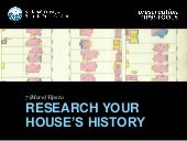 How to Research Your House's History: Part Two