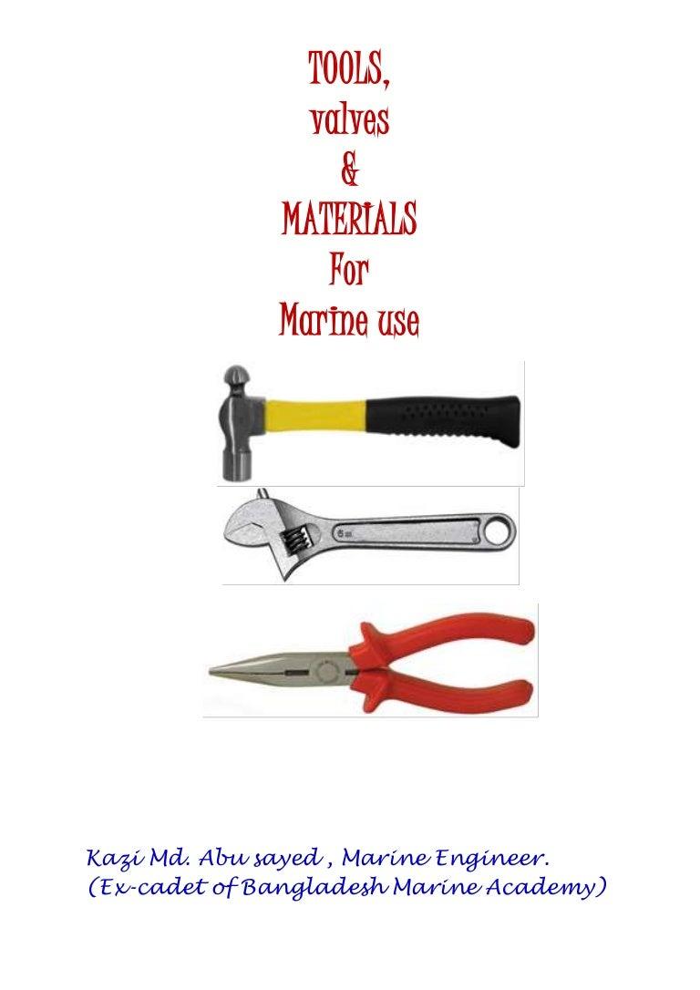 Diesel Mechanic Tools >> Tools, Valves & Materials for Marine Use