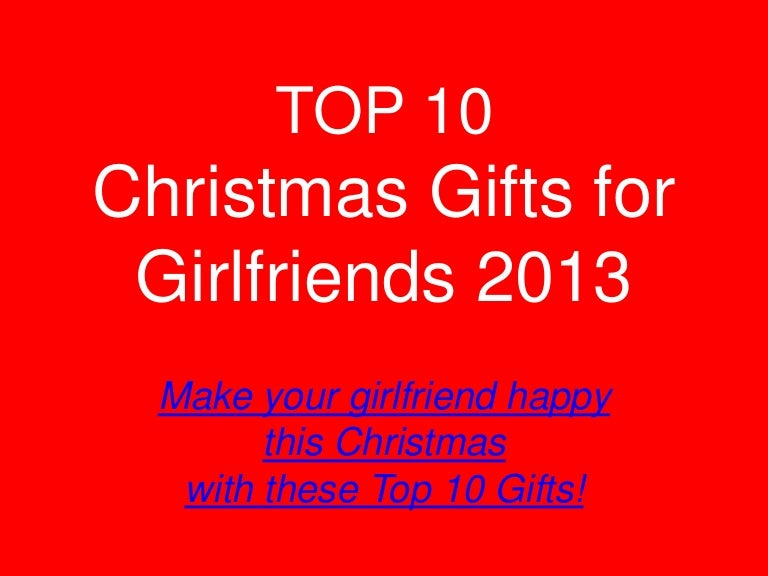 Top 10 christmas gift for girlfriend