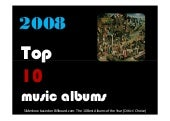 Top 10 Music Albums Of 2008