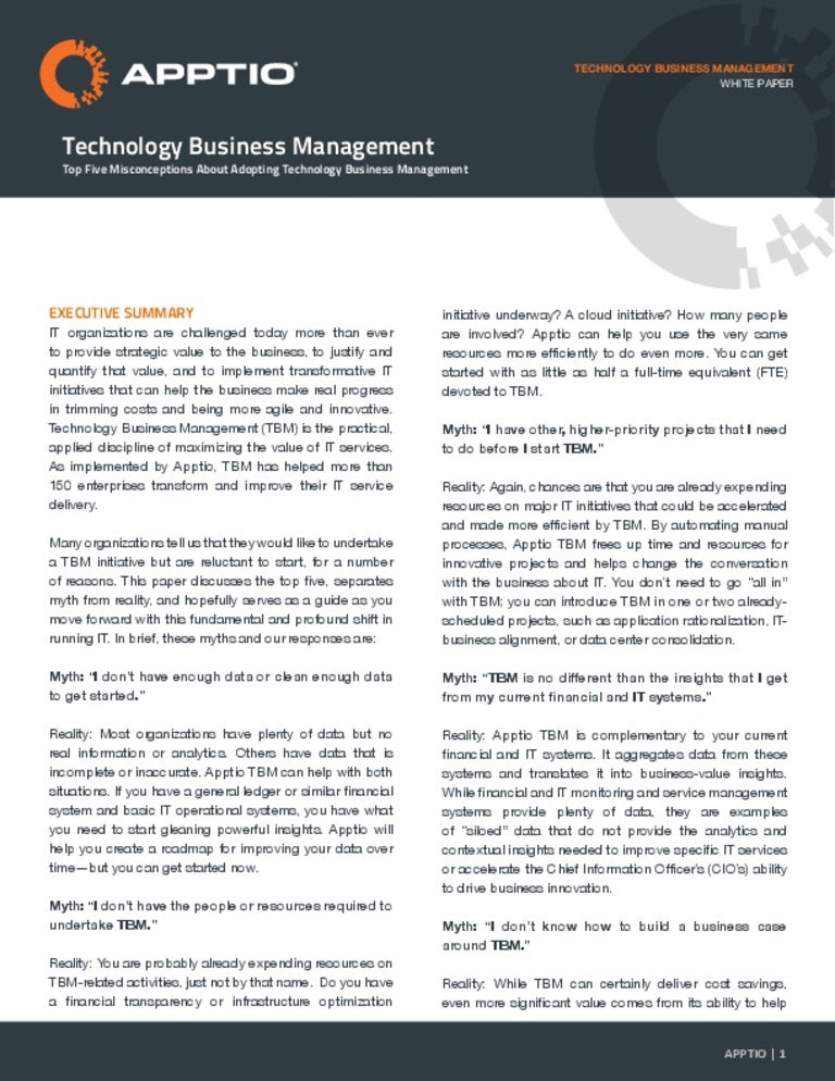 Mahor Technology Management: Top Five Misconceptions About Adopting Technology Business