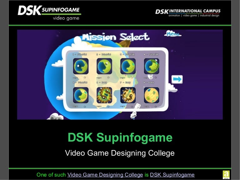 DSK International Campus Offers Courses In Video Game Design And Game - Game design schools