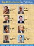 Top 10 Economists of Pakistan