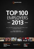 Top 100 Apprentice Employers 2013 by  City and Guilds
