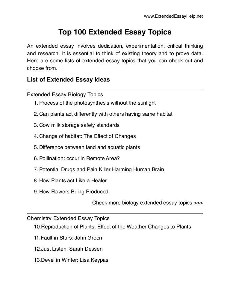 example of an english extended essay   how to write an