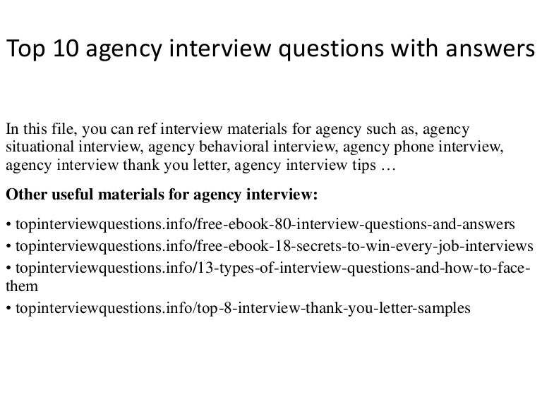 Top10agencyinterviewquestionswithanswers 141208231030 Conversion Gate02  Thumbnail 4 Jpg Cb 1504020402