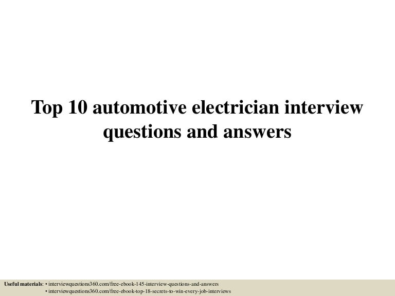 top10automotiveelectricianinterviewquestionsandanswers 150604140313 lva1 app6891 thumbnail 4?cb=1433426645 top10automotiveelectricianinterviewquestionsandanswers 150604140313 lva1 app6891 thumbnail 4 jpg?cb=1433426645 wiring harness design interview questions at crackthecode.co