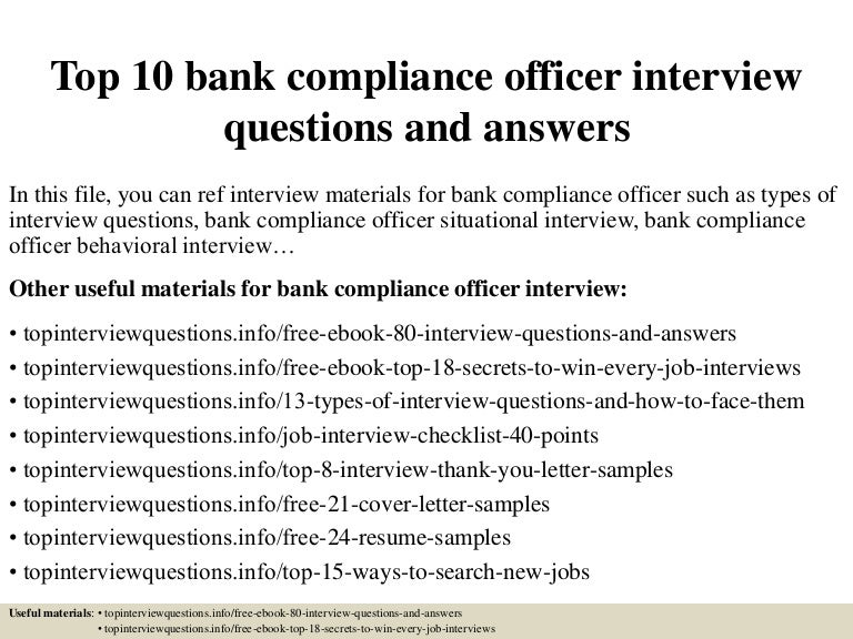 Top10bankcomplianceofficerinterviewquestionsandanswers 150317031036 conversion gate01 thumbnail 4gcb1426579888 fandeluxe Images