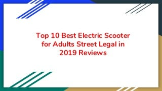 top10bestelectricscooterforadultsstreetl