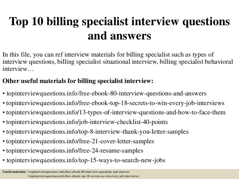 medical billing interview question top10billingspecialistinterviewquestionsandanswers-150328003650-conversion-gate01-thumbnail-4.jpg?cb=1427521061
