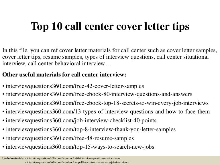 Call Center Cover Letter Examples Cover Letter Now. Call Center ...