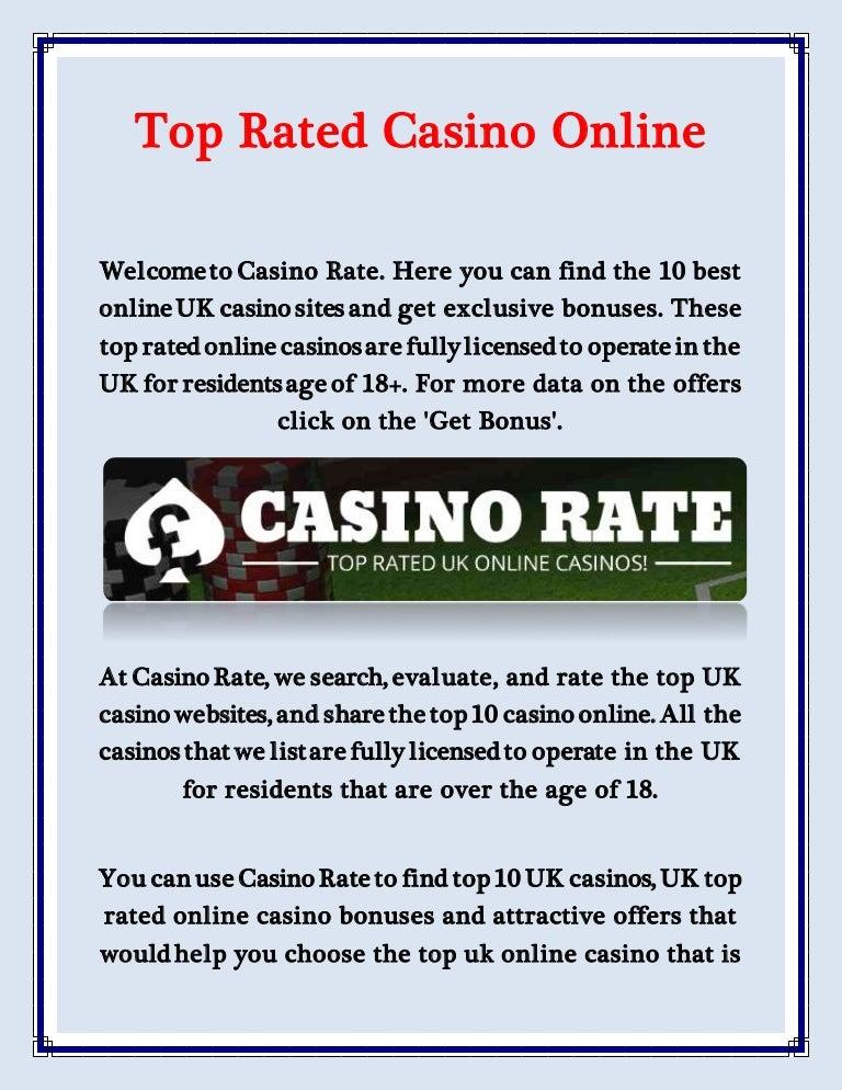 Top Uk Casino Websites