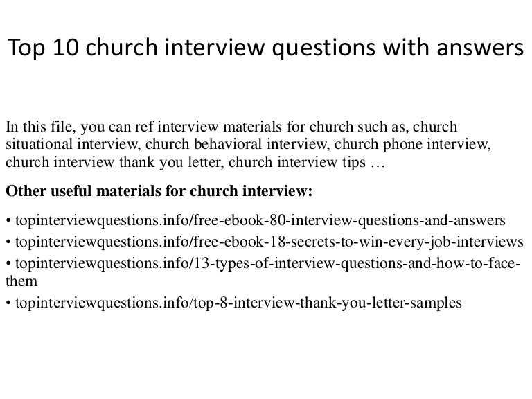 top10churchinterviewquestionswithanswers 141211064006 conversion gate02 thumbnail 4jpgcb1418280085 - Church Administrator Salary
