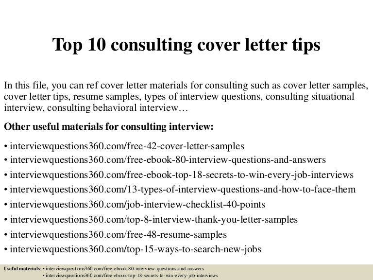 Marine Consultant Cover Letter. Green Building Consultant Cover ...