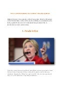 Top 10 controversial facts about hillary clinton