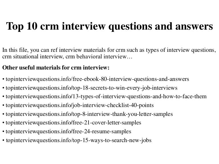 Interview Questions Hilton Hotels