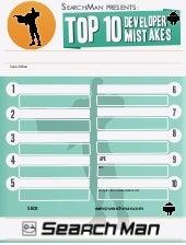Google Play SEOでアプリ開発社が避けるべき10の間違い [infographic by search man.com] ja