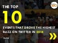 Top 10 Events of 2014 that drove the highest buzz on Twitter