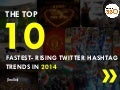 Top 10 Fastest rising Twitter hashtag trends in India