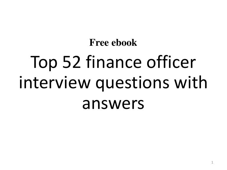 finance questions and answers