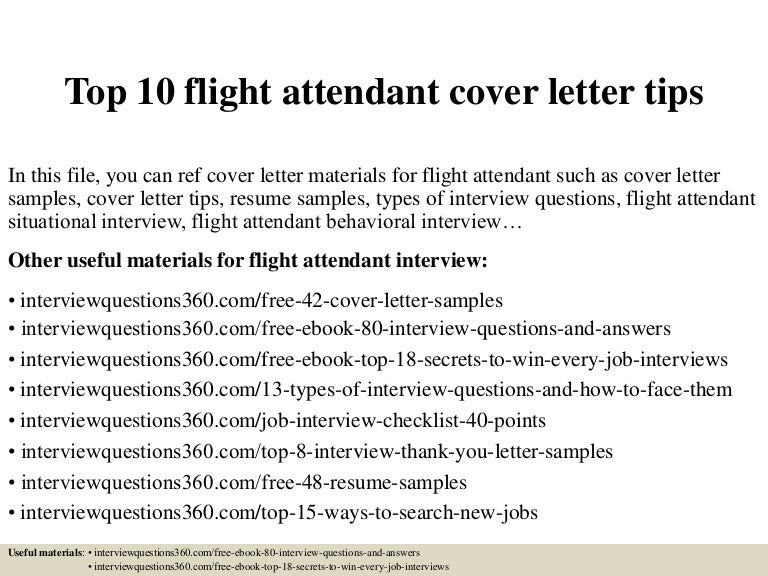 Cabin Crew Cover Letter Samples. Cover ...
