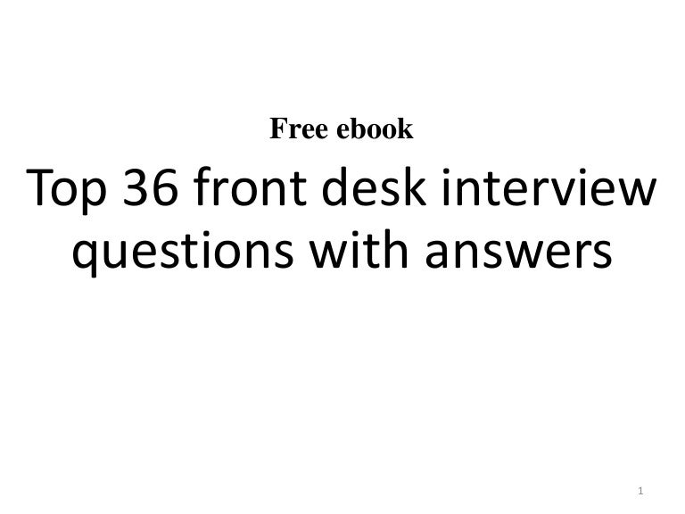 medical receptionist interview questions