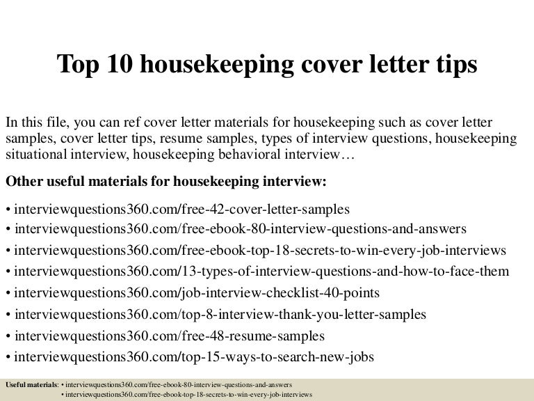 top10housekeepingcoverlettertips 150404150903 conversion gate01 thumbnail 4jpgcb1428178195