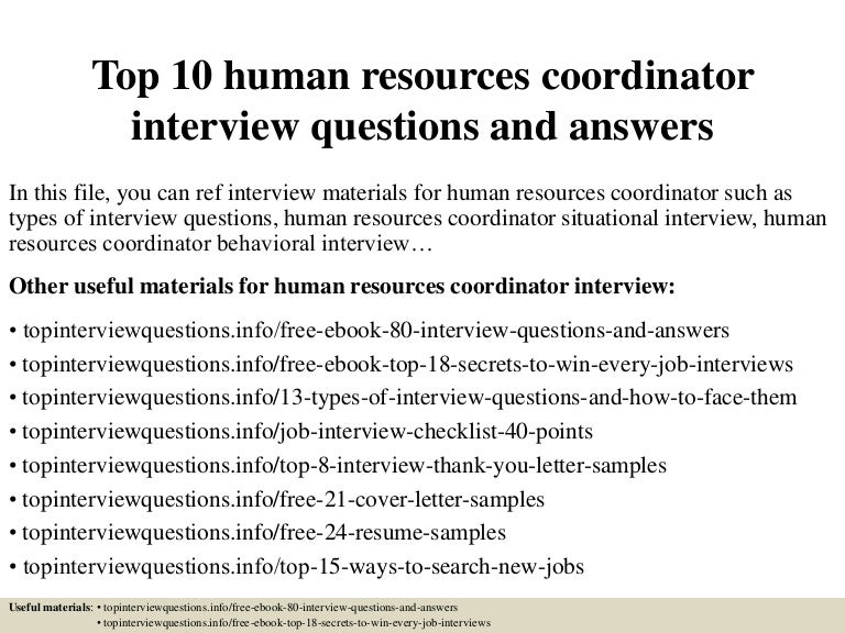 Top10Humanresourcescoordinatorinterviewquestionsandanswers-150405202241-Conversion-Gate01-Thumbnail-4.Jpg?Cb=1428283410