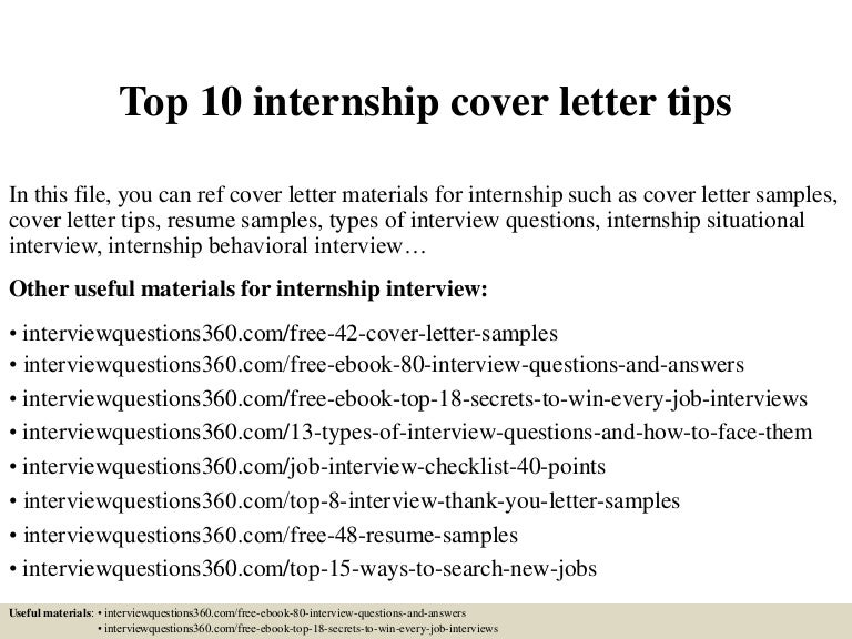 top10internshipcoverlettertips 150327005429 conversion gate01 thumbnail 4jpgcb1427435717 - How To Write A Internship Cover Letter